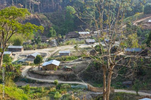 Fotografie, Obraz  Tribe village