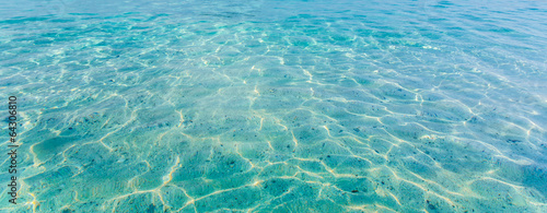 Photo  Crystal clear sea of tropical island