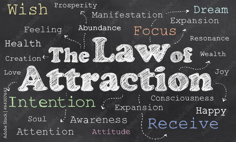 Fototapety, obrazy: Law of Attraction