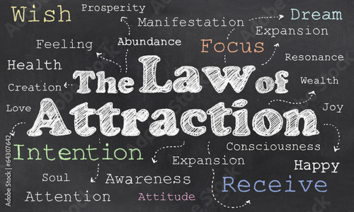 Fotografia  Law of Attraction