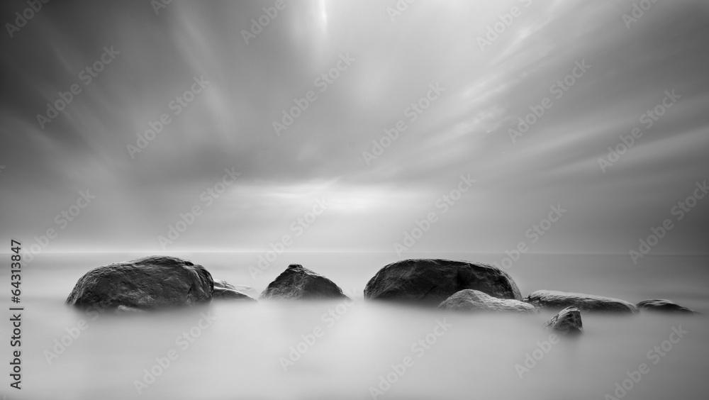 Fototapeta Stones in the sea
