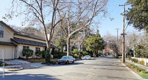 Obraz Street view in Palo Alto - fototapety do salonu