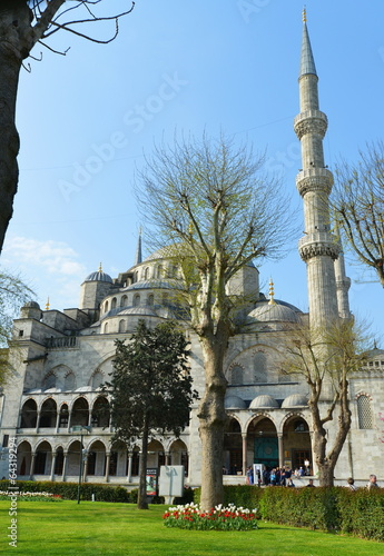 The Blue Mosque, (Sultanahmet Camii), Istanbul, Turkey Poster