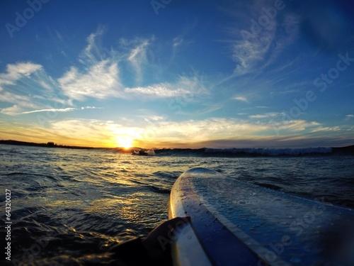 Fotografie, Obraz  Surfování Byron Bay