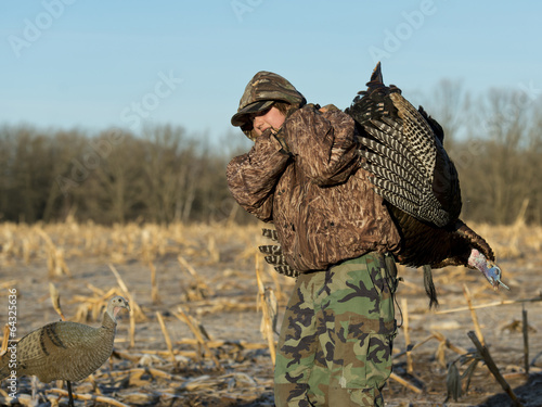 Fotografia, Obraz  Turkey Hunting