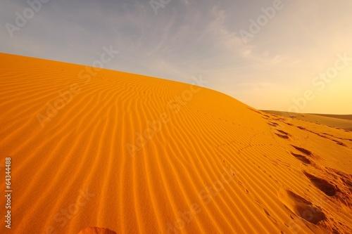 Poster de jardin Desert de sable Deserts Landscape