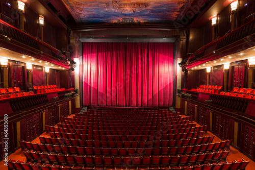 Obraz na płótnie theater interior