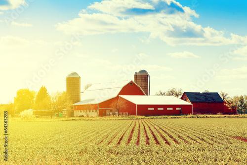 Foto  Traditional American Farm
