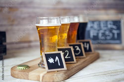 Beer Tasting Wallpaper Mural