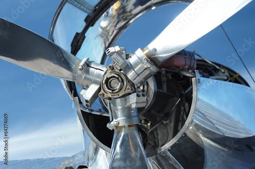 Juliste  Small airplane propeller