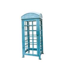 Blue Vintage Telephone Booth
