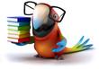 canvas print picture Parrot