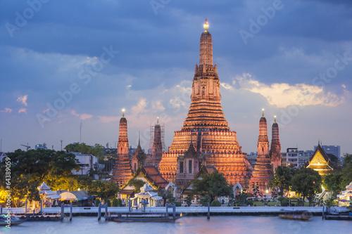 Poster Bangkok Wat Arun temple , bangkok ,thailand