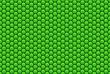 canvas print picture - Wabenmuster in grün als Hintergrund