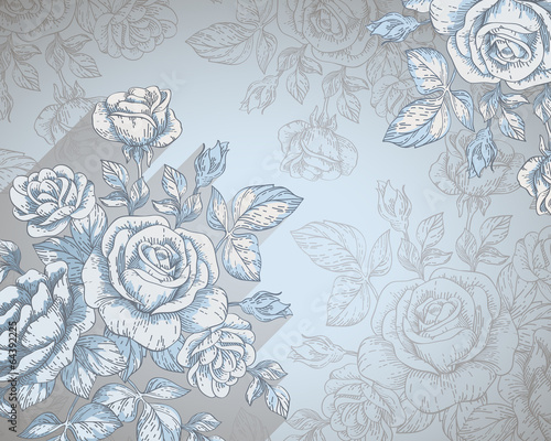 Photo floral background