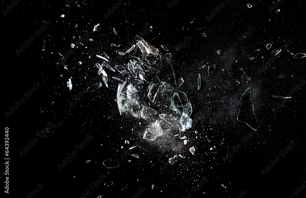 Fototapety, obrazy: glass  explosion