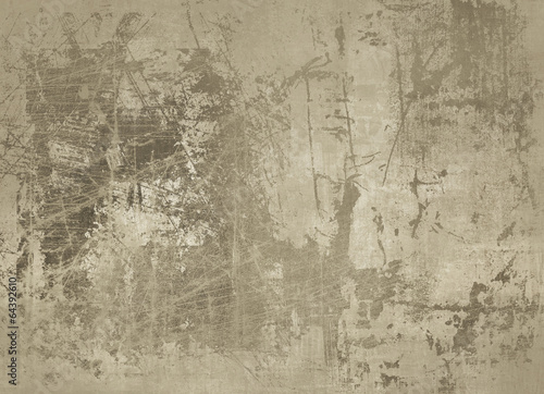 Foto auf AluDibond Alte schmutzig texturierte wand Abstract backgrounds
