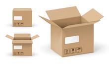 Boites En Carton Vectorielles 2