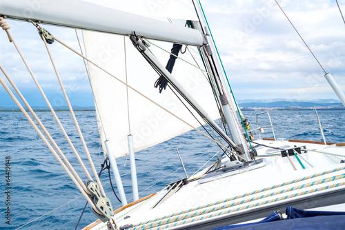 Deurstickers Zeilen Sailing