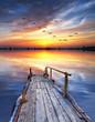 la suave luz del amanecer