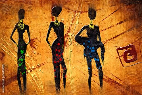 african motive ethnic retro vintage