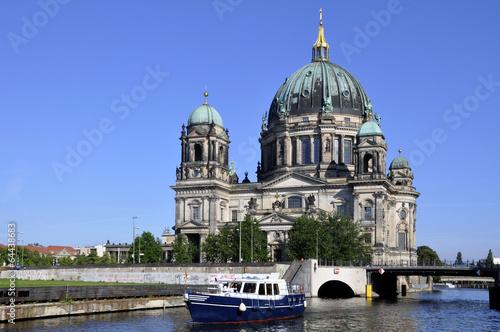 Spoed Fotobehang Berlijn Berlin Deutscher Dom