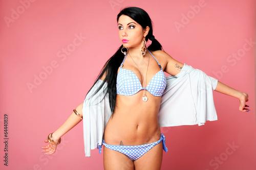 ad18bfaec Sensual pin-up girl - Buy this stock photo and explore similar ...