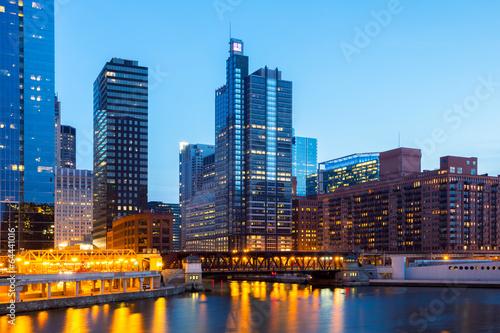Foto op Plexiglas Chicago Chicago Downtown