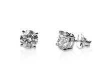 Beautiful Diamond Stud Earrings