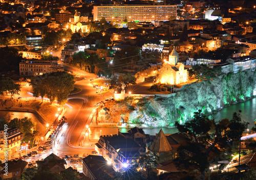 Keuken foto achterwand Havana Tbilisi at night