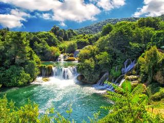 Obraz Der Krka-Nationalpark bei Šibenik in Kroatien
