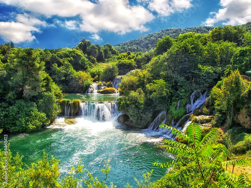 Photo Der Krka-Nationalpark bei Šibenik in Kroatien