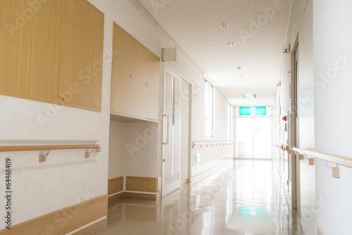 Fotografie, Obraz  福祉 施 設 の 廊下