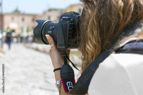 Fotografie, Obraz  Fotografa Sul Campo