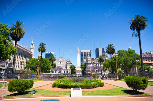 Spoed Foto op Canvas Buenos Aires Beuatiful view of Buenos Aires capital of Argentina