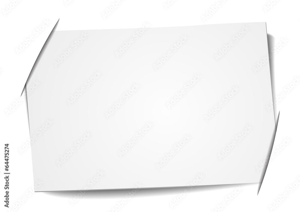 Fototapeta blank label
