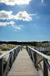 Holzbrücke HDR
