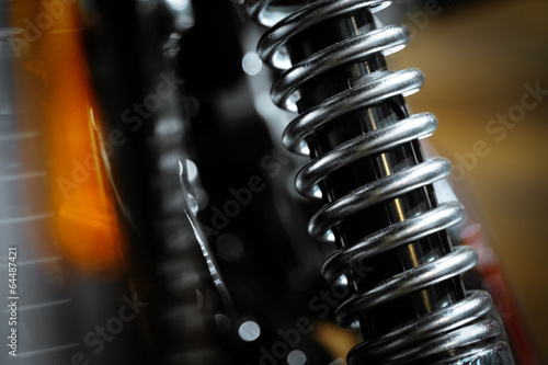 Photo Motorcycle suspension