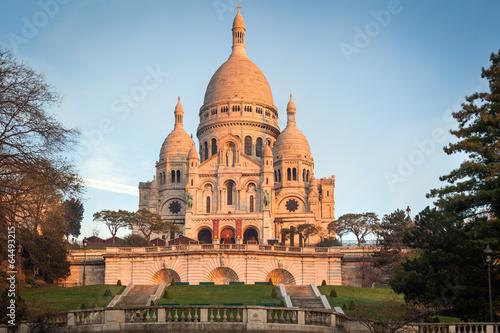 The Basilica of Sacre Coeur, Paris Canvas Print