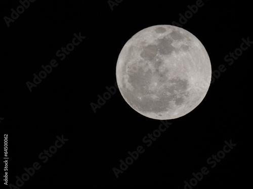 Poster Pleine lune Full moon