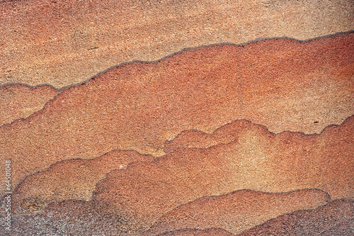 Photo  Texture of pink sandstone
