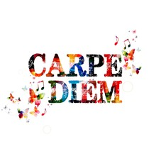"Colorful Vector ""CARPE DIEM"" B..."