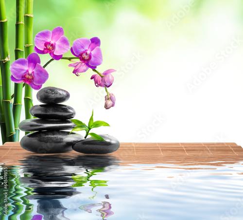 Piękne obrazy tlo-spa-z-odrobina-bambusa-orchidei-i-wody