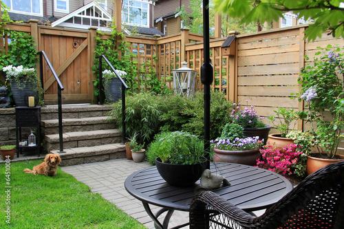 Poster Garden Small garden