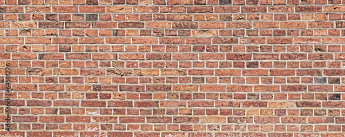 Deurstickers Baksteen muur Background texture of a old brick wall