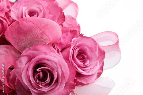 Bouquet of pink rose