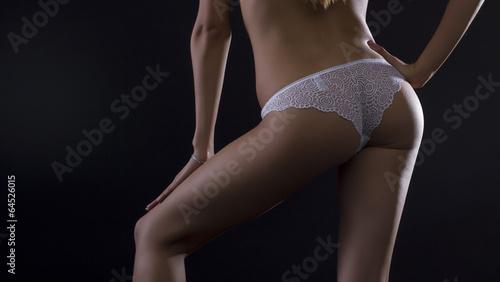 Fotografie, Obraz Silhouette of perfect sexy female body