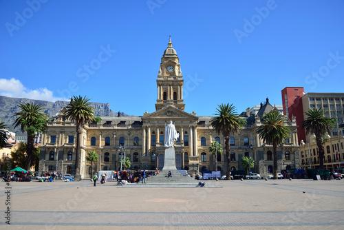 Poster Afrique du Sud Cape Town City Hall