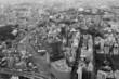 Panoramic view of Tokyo in Japan