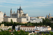 Almudena Cathedral and Royal Palace, Madrid (Spain)